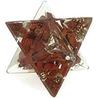 Reiki Energie geladen natur Edelstein Jaspis rot Heilstein Chip Energetische markaba Star (23–25mm) preisvergleich bei billige-tabletten.eu