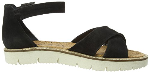 Marc Shoes Mia, Sandales Bride cheville femme Noir (black 100)