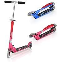 Patinete plegable con dos ruedas, Fascol Patinete Monopatín Scooter para ciudad