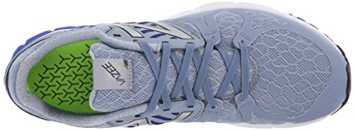 New Balance Men's Vazee Rush Running Shoe, Silver/Blue, 11 2E US Silver / Blue