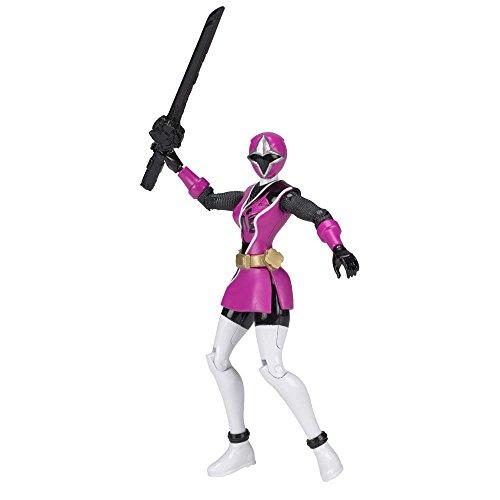 Power Rangers 43704 Ninja Stahl-Ranger-Figur, 12,5cm, Pink