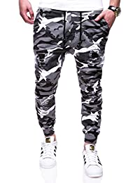 MT Styles Jogger Chino-Hose Camouflage Hose RJ-3227