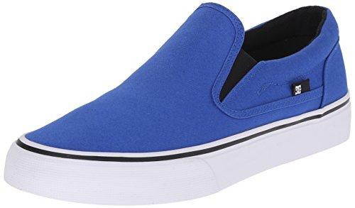 DC Trase Slip-On TX Unisex Shoe, Blue, 4.5 M US