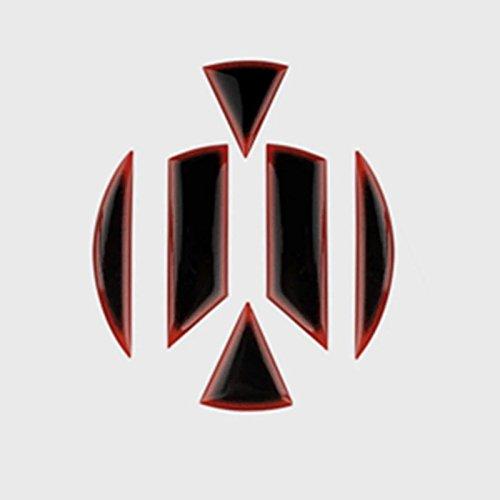 Emblem Trading Emblem Flex Coating Vorne & Hinten Logo in Schwarz Autozubehör MK7 Club Sport AD1 AD2