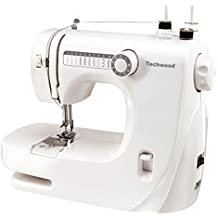 Techwood TMAC-608 - Máquina de coser, color blanco