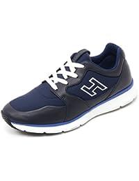 Hogan B7132 Sneaker Uomo Traditional 20.15 Scarpa H Flock Blu Shoe Man 4a75466a068