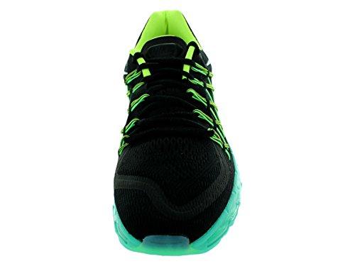 Nike Air Max 2015, Scarpe da Corsa da Uomo Nero (BLACK/WHITE-VOLT-HYPER JADE)