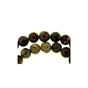 Fil de 64 perles rondes 6mm 6 mm en sugilite surgilite
