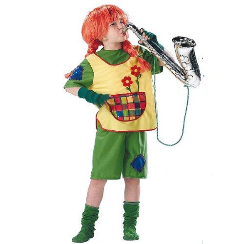 Carnevale costume per bambina lidi calzelunghe 409051 anni 8, anni 10, anni 14 (anni 10 cm. 140)