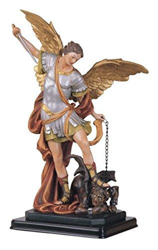 George S. Chen las importaciones ss-g-212.04San Miguel el Arcángel Santa figura religiosa decoración, 12'