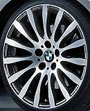 Original BMW Alufelge 5er E60-LCI Radialspeiche 190 glanzgedreht in 19 Zoll für vorne