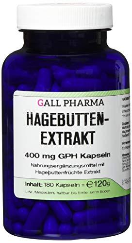 Gall Pharma Hagebuttenextrakt 400 mg GPH Kapseln, 1er Pack (1 x 180 Stück)