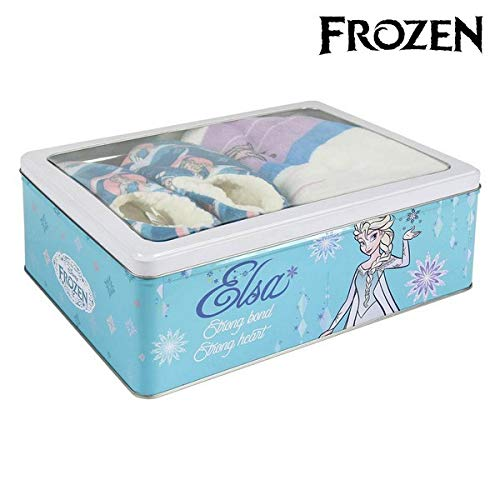 Cerd\xe1 Frozen S0710504 Caja Metalica Manta Zapatillas