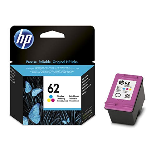 Original Tinte HP 62, 62C, 62COLOR, C2P06A, NO62, NO62C, NO62COLOR C2P06AE -