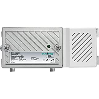 Axing BVS 13-69N Hausanschluss-Verstärker 30dB aktiver Rückkanal 5-65 MHz (1006 MHz, 100dBµV) Silber