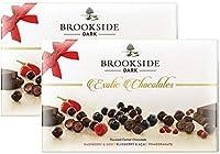 Brookside Dark Exotic Chocolates Gift Box, (Assorted) - 135g - Shipping Free