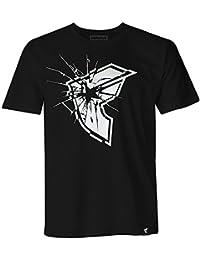 Famous Stars and Straps Men's Shatter BOH T Shirt Black