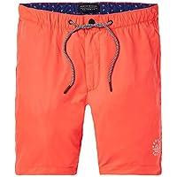 Natación Pantalones Cortos Scotch & Soda Clásico Masculino, Coral