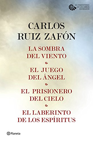 Tetralogía El Cementerio de los Libros Olvidados (pack) por Carlos Ruiz Zafón