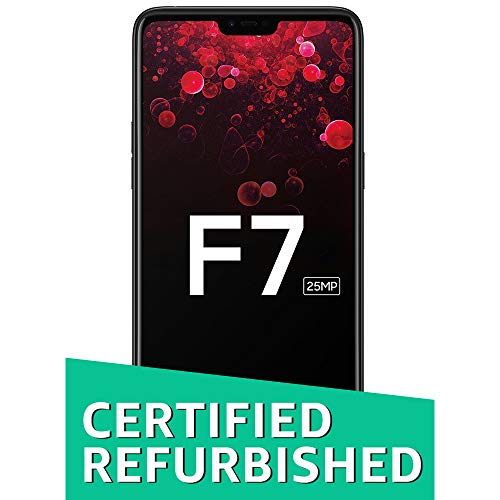 (CERTIFIED REFURBISHED) Oppo F7 (Black, 64GB) with Offers