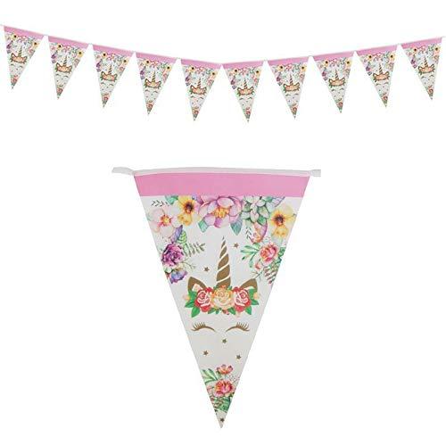 Einhorn Party Dekor Geburtstag Latex Ballons Unicorn Theme Papier Hut Servietten Teller Tischdecke Kinder Happy Birthday Geschenke, 1 Satz (Unicorn Papier-servietten)