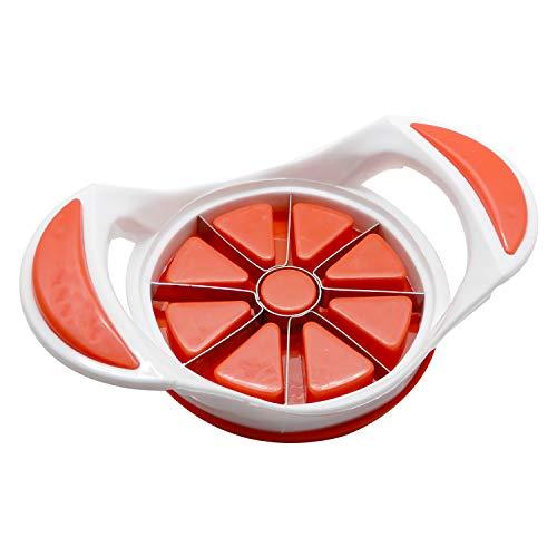 Bignay 8 - Blade Apfelschneider Corer Cutter Wedger Divider - Ultra scharfe Edelstahlklingen perfekt für Äpfel oder Birnen Wedger Corer