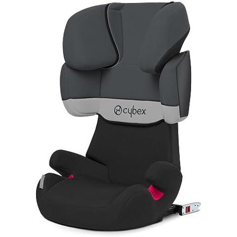 Cybex Solution X-fix - Silla de coche Grupo 2/3 (15-36 kg, 3 -12 años), color gris