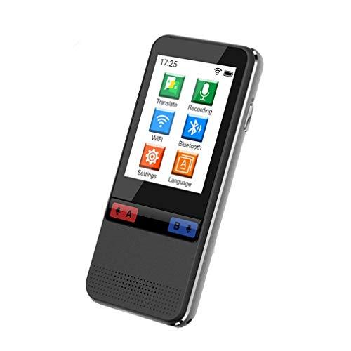 JIEGEGE 45 Sprachen WiFi Smart Voice Translator Übersetzung Von Gerätedaten Sätzen, Offline-Übersetzung Von Chinesisch Und Englisch Für Reisestudien, Lange Lebensdauer