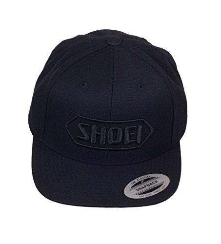 original-Shoei-Bascap-Kappe-Mtze-schwarz-schwarz