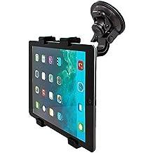 Mobilefox Soporte de coche de 360° para tablet, ordenador, para Samsung Galaxy Tab 4 / 3 / 2 / S / A / Note / NotePRO/ TabPRO / Active / Ativ / Ativ Q / Lite 7 / 7.0 / 7.7 / 8.0 / 8.4 / 8.9 / 10.1 / 10.5 / 12.2