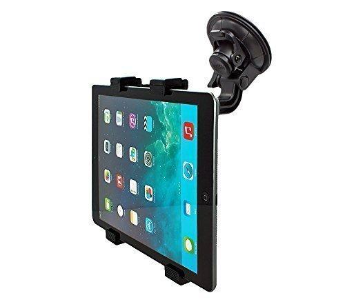 mobilefox® 360° KFZ Halterung Tablethalterung Auto Halterung Car Holder Halter für Tablet PC Samsung Galaxy Tab 4 / 3 / 2 / S / A / Note / NotePRO/ TabPRO / Active / Ativ / Ativ Q / Lite 7 / 7.0 / 7.7 / 8.0 / 8.4 / 8.9 / 10.1 / 10.5 / 12.2