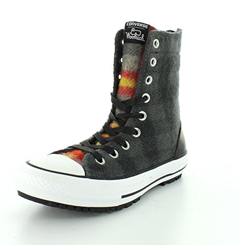 Girl Stiefel Boots Gr. 35 (US5) Chuck Taylor All Star Hi Rise Woolrich Boot X-Hi Thunder/Black/Casino *** 549686C *** ()