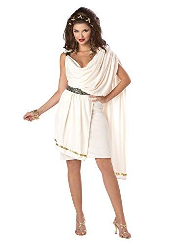 Erwachsene Kostüm Für Classic Toga - Women's Deluxe Classic Toga Fancy Dress Costume X-Large