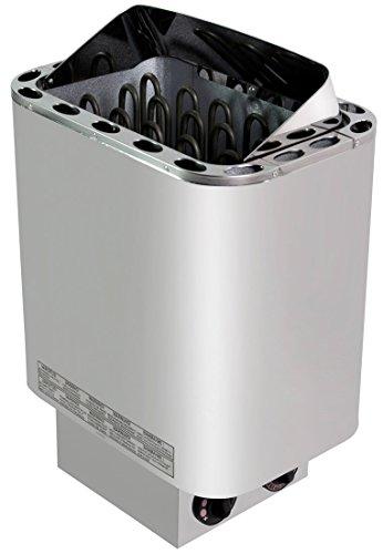 Saunaofen Nordex 8kW mit integrierter Steuerung inkl. Saunasteine und 100 ml Saunaaufguss