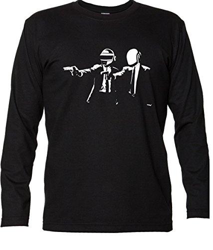 Renowned Longsleeve Daft Punk Vs Pulp Fiction T Shirt