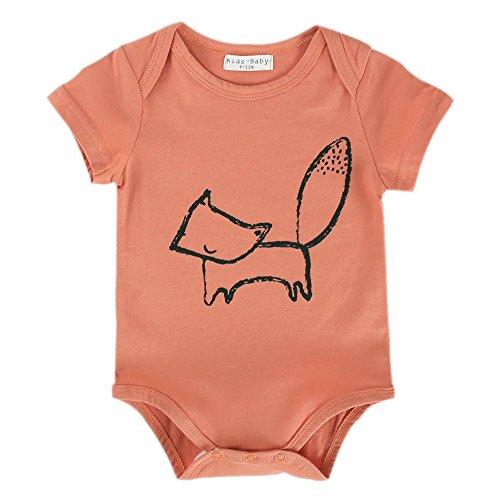 Unisex Neugeborene Kleidung Lustiges Onesie 0 3 6 9 Monate Sommer Mädchen Strampler Overall Säugling Jungen (0-6 Monate, R18) (Niedliche Baseball-outfits, Halloween)