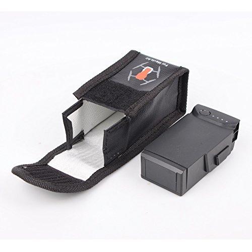 PENIVO Tragbare Drohne LiPo explosionsgeschützte sichere Tasche, Batterie schützende Aufbewahrungstasche für DJI Mavic Air batterien case Zubehör (Klein) (Case-air Filter)