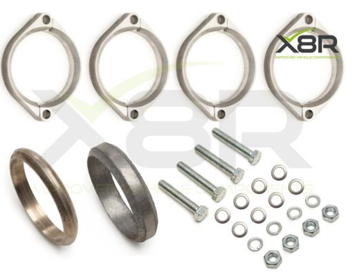 bmw-e46-m3-rusted-exhaust-flange-flanges-brackets-repair-replacements-fix-kit