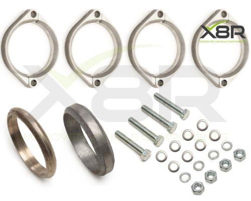 bmw-e46-m3-rost-auspuff-flansch-flanschen-klammern-reparatur-ersatz-fix-kit