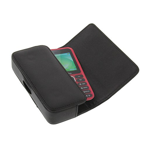 Tasche für Wiko Lubi 3 Quertasche Handytasche Schutz Hülle schwarz