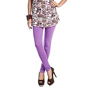 Rupa Women's Softline Churidar SL33 Bpurple Leggings - Free Size