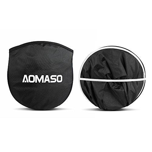 Aomaso-Parabrezza-Anti-Sole-per-Auto-Fronte-e-Retro-Ripiegabile-per-Evitare-i-Raggi-del-Sole-Protettore-Contro-i-Raggi-UV