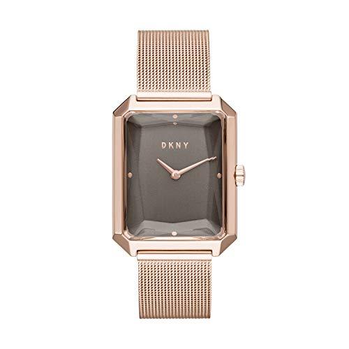 DKNY NY2710 - Reloj de Pulsera para Mujer, de Malla de Acero Inoxidable, Color Oro Rosa