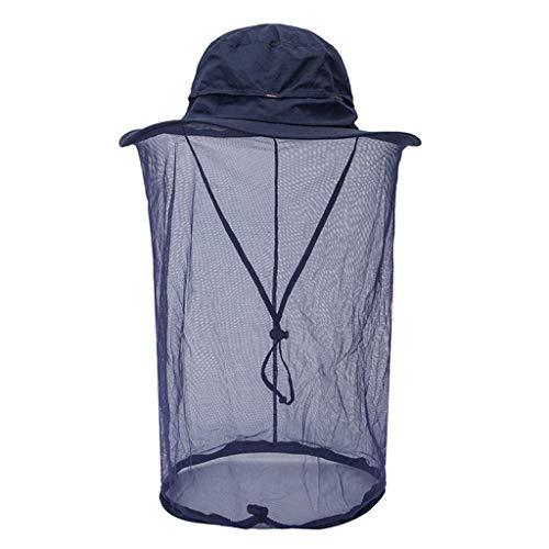 Webla Schutzhülle Imkerei Imker Mückenschutz Bienenwanze Insekt Fliegenmaske Mütze Mütze mit Kopf Netzgewebe Schutz, Stoff Como Volant