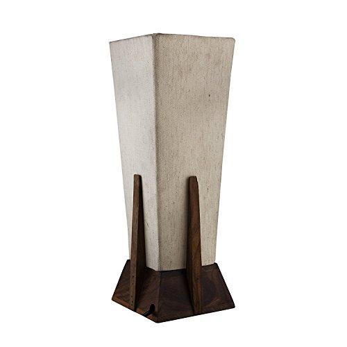 Hashcart antike hölzerne Schreibtischlampe/moderne Nachttischlampe/antike dekorative Tischlampe...