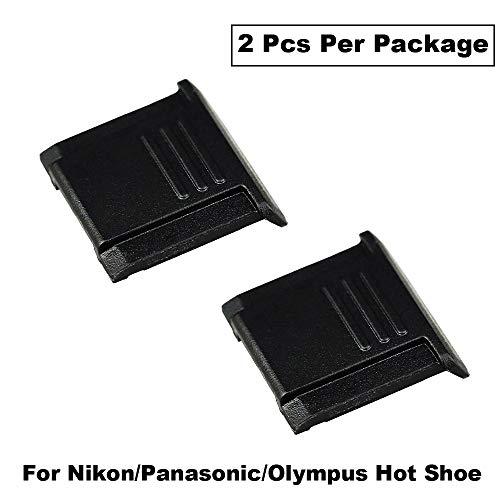 eFonto / JJC Blitzschuhabdeckung für Nikon Olympus Panasonic Spiegelreflexkameras mit Standard-ISO-Blitzschuh