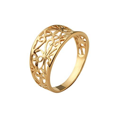 ISADY - Nelina Gold - Damen Ring - 18 Karat (750) Gelbgold - T 60 (19.1)