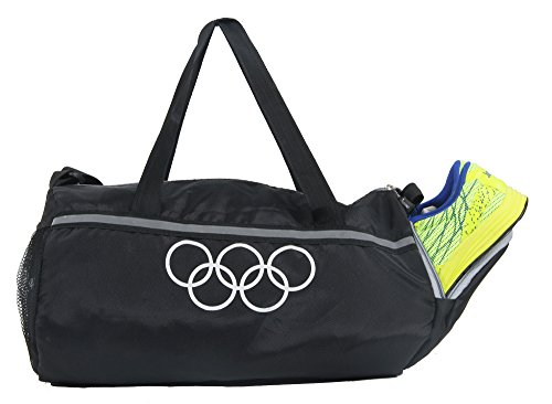 Pole Star 950 Cms Soft Polyester Travel Duffel, Gym Bag- Black