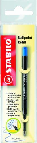 Kugelschreiberminen von STABILO - z.B. für COM4ball, EASYball und SMARTball - 10er Pack - blau