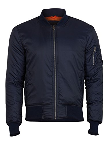 Surplus Herren Basic Bomberjacke, Navy, XL